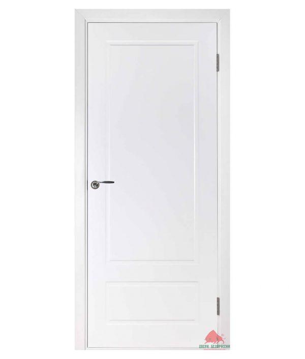 Межкомнатная дверь Двери Белоруссии - Европа белая эмаль ПГ