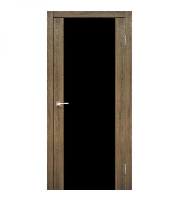 Межкомнатные двери Корфад - Sanremo SR-01 BLK NEW