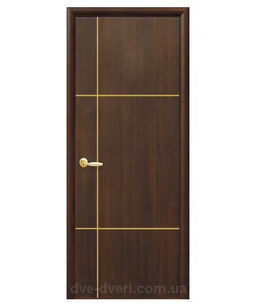 Межкомнатные двери Новый стиль - Плюс DeLuxe Ника голд