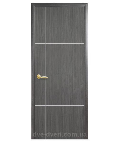 Межкомнатные двери Новый стиль - Плюс DeLuxe Ника сильвер
