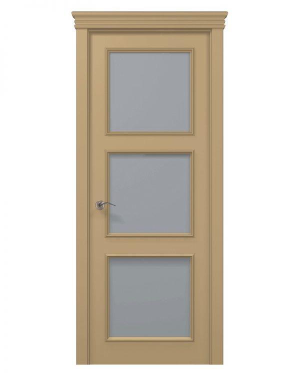 Межкомнатные двери Папа Карло - Art Deco ART-03 Сатин